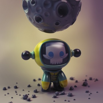 Moonman Urban Vinyl Toy