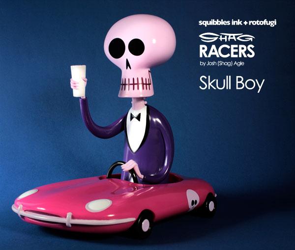 Rotofugi's Vinyl Skull Boy by Shag