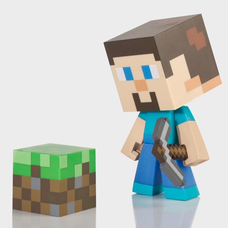 Minecraft Steve Vinyl Toy