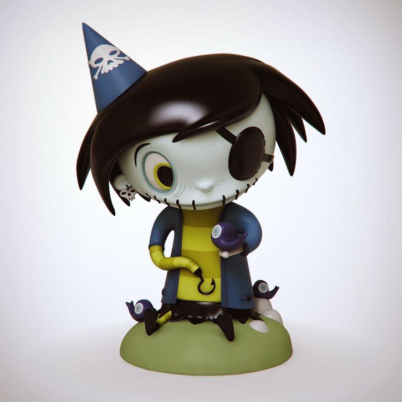 Collectible Scary Girl