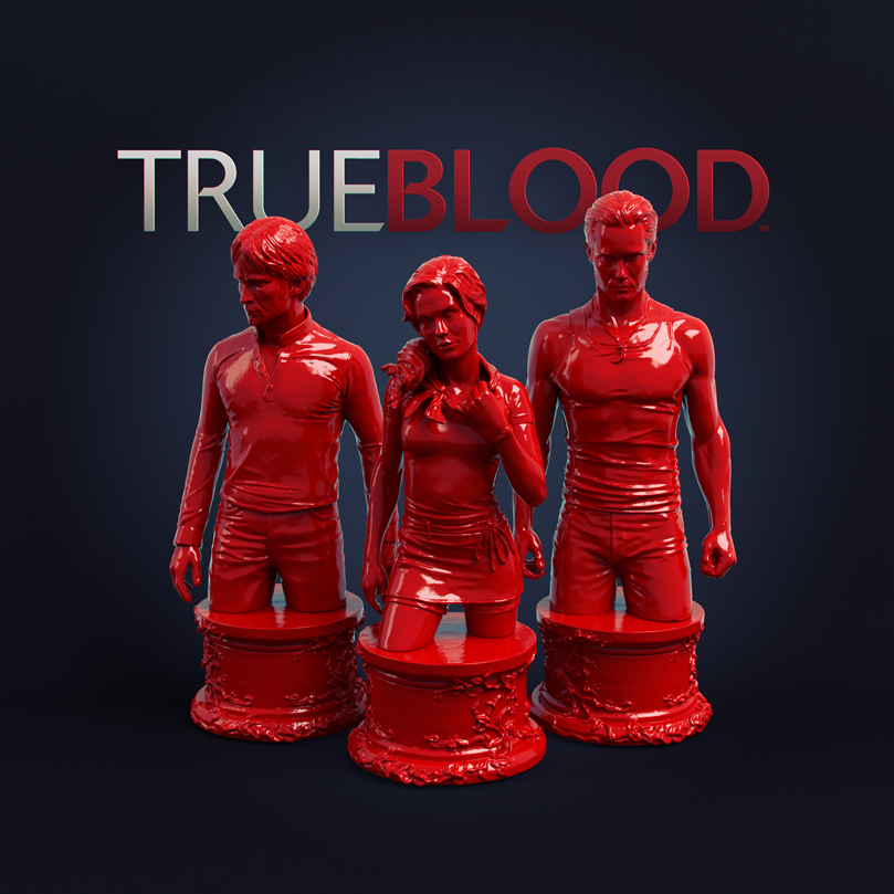 Collectible True Blood Figures