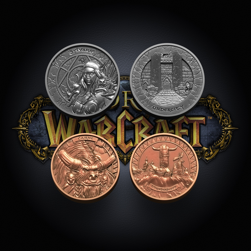 Collectible World of Warcraft Coins