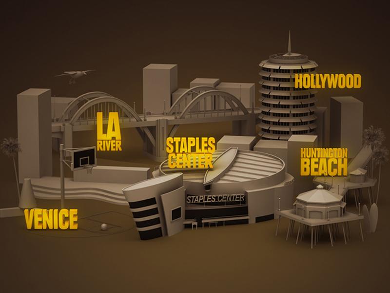 """Nike """"Los Fearless"""" Map"""