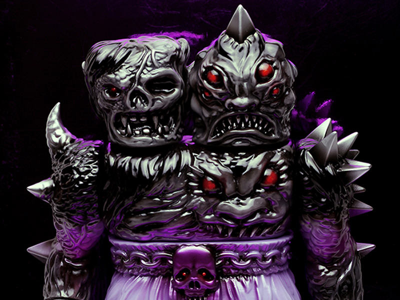 Krawless the 2-Headed Creature of Doom Vinyl Toy