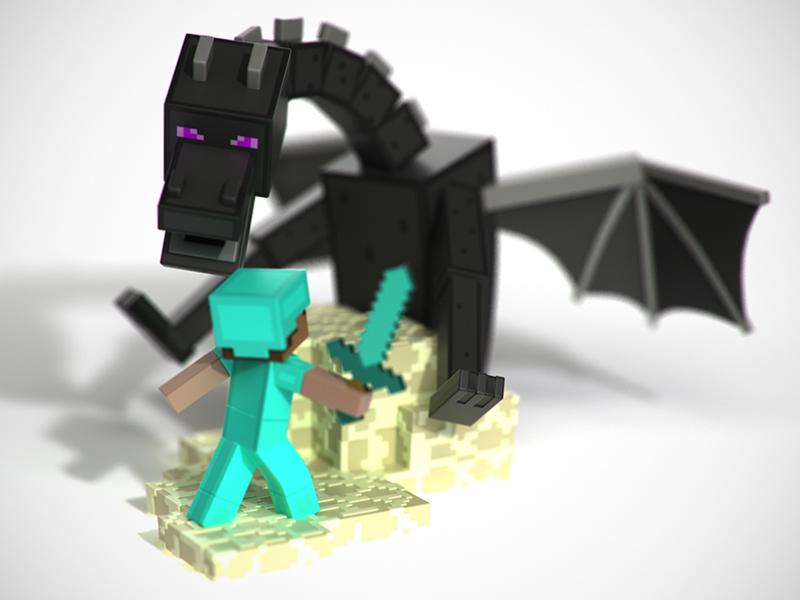 Minecraft Vinyl Toys – Gatcha-Style