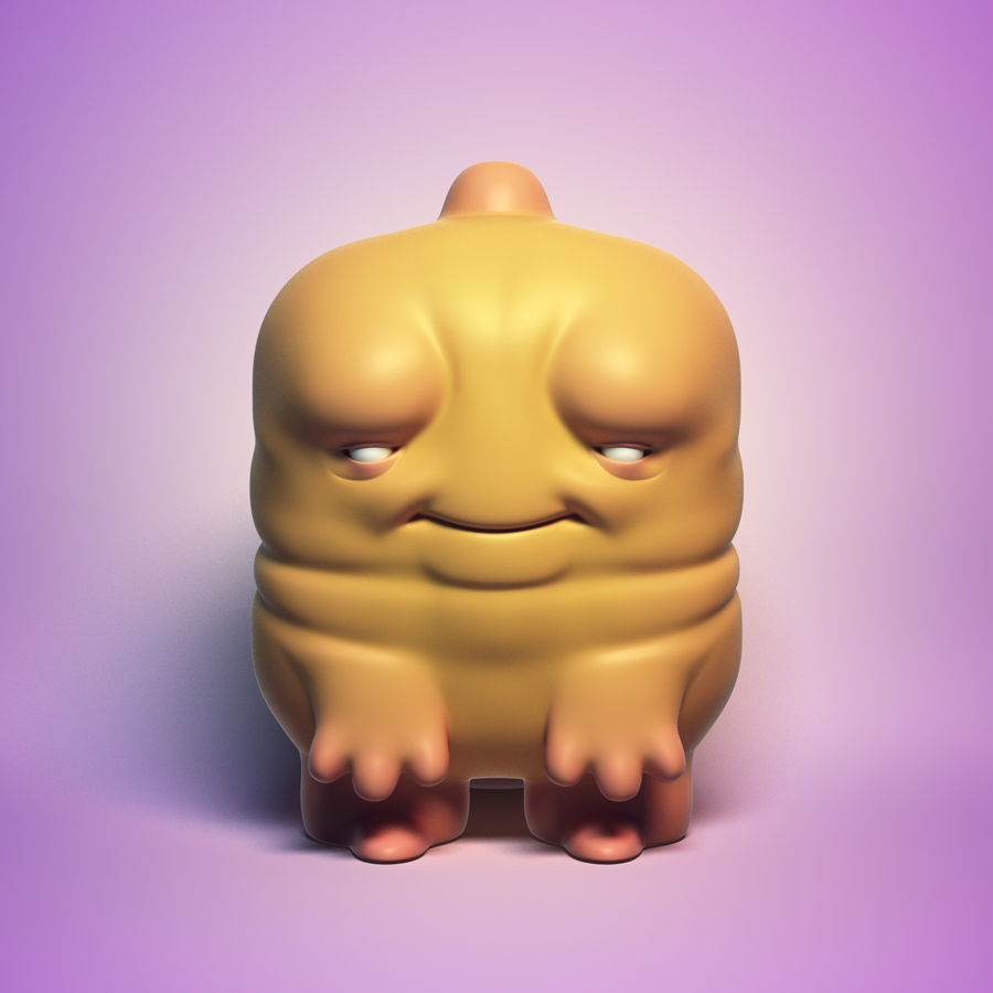 Free Downloadable 3d Model - Cheebs